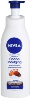 Nivea Cocoa Indulging tápláló testápoló krém száraz bőrre