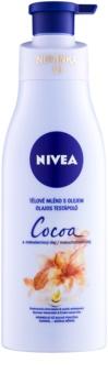 Nivea Cocoa & Macadamia Oil leche corporal con aceite