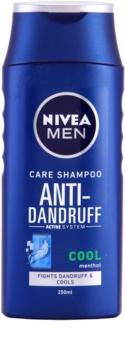 Nivea Men Cool шампунь проти лупи для подразненої та схильної до свербіння шкіри