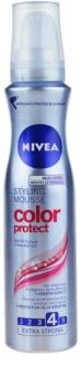 Nivea Color Protect fixáló hab a tündöklő hajszínért