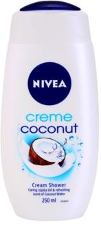 Nivea Creme Coconut gel cremos pentru dus