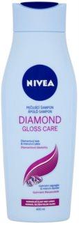 Nivea Diamond Gloss champô para cabelo baço e sem brilho