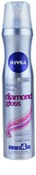 Nivea Diamond Gloss lak za lase