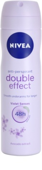 Nivea Double Effect antitranspirante em spray