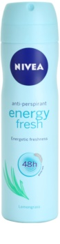 Nivea Energy Fresh deodorant ve spreji
