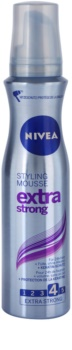 Nivea Extra Strong mousse