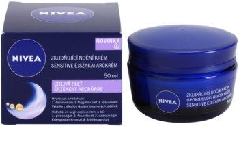 Nivea Face creme calmante de noite para pele sensível