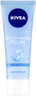 Nivea Face zjemňující pleťový peeling