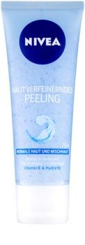 Nivea Face zjemňujúci pleťový peeling