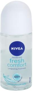 Nivea Fresh Comfort desodorizante roll-on