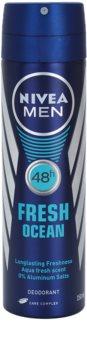Nivea Men Fresh Ocean desodorizante em spray