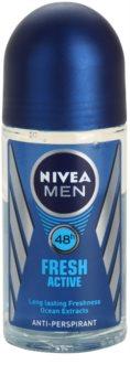 Nivea Men Fresh Active antitranspirante roll-on para homens