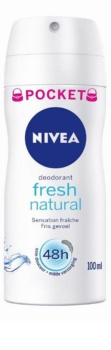 Nivea Fresh Natural deodorant ve spreji