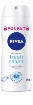 Nivea Fresh Natural deodorant ve spreji