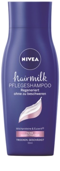 Nivea Hairmilk champô de cuidado para cabelo fino