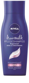 Nivea Hairmilk ošetrujúci šampón pre jemné vlasy