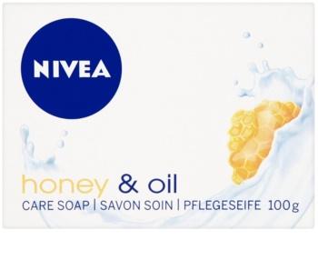 Nivea Honey & Oil sabonete sólido