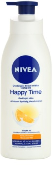 Nivea Happy Time loção corporal refrescante para pele normal e seca