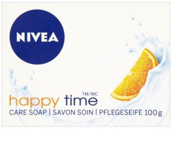 Nivea Happy Time tuhé mýdlo