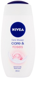 Nivea Care & Roses upokojujúci sprchový gél