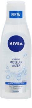 Nivea Caring osvěžující micelární voda s vitamínem E