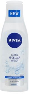 Nivea Caring osviežujúca micelárna voda s vitamínom E