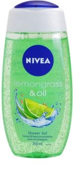 Nivea Lemongrass & Oil гель для душу