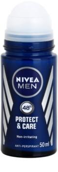 Nivea Men Protect & Care anti-transpirant roll-on  pour homme
