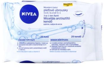 Nivea Micellar toallitas  limpiadoras faciales 3 en 1