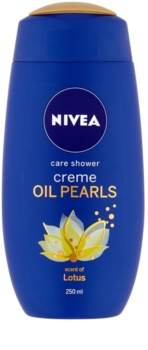 Nivea Creme Oil Pearls pečující sprchový gel