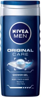 Nivea Men Original Care gel de duche para rosto, corpo e cabelo