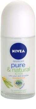 Nivea Pure & Natural dezodorant roll-on