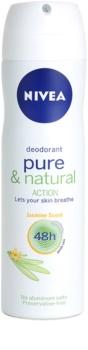 Nivea Pure & Natural deodorant spray 48 de ore