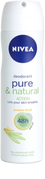 Nivea Pure & Natural deodorant ve spreji 48h