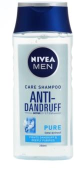 Nivea Men Pure szampon przeciwłupieżowy do włosów normalnych i przetłuszczających się
