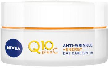 Nivea Q10 Plus C poživitvena dnevna krema proti gubam