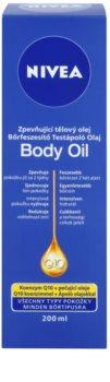 Nivea Q10 Plus óleo corporal refirmante  para todos os tipos de pele