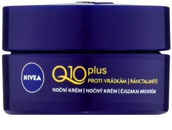 Nivea Q10 Plus nočna krema proti gubam