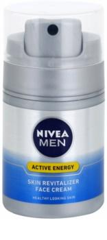 Nivea Men Revitalising Q10 crema revitalizanta ten uscat