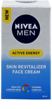 Nivea Men Revitalising Q10 Gezichtscrème  voor Droge Huid