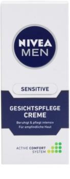Nivea Men Sensitive upokojujúci krém pre citlivú pleť
