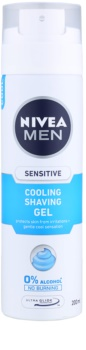 Nivea Men Sensitive gel de afeitar con efecto frío
