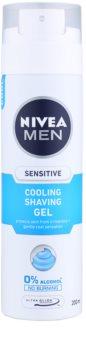 Nivea Men Sensitive gél na holenie s chladivým účinkom