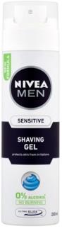 Nivea Men Sensitive gel pentru bărbierit