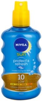 Nivea Sun Protect & Refresh spray solar invisível SPF 10