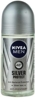 Nivea Men Silver Protect antiperspirant roll-on pentru barbati