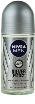 Nivea Men Silver Protect antiperspirant roll-on pentru barbati