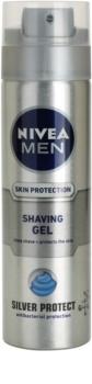 Nivea Men Silver Protect gel de afeitar
