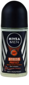 Nivea Men Stress Protect roll-on antibacteriano para homens