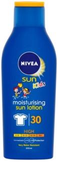 Nivea Sun Kids loção solar para crianças SPF 30